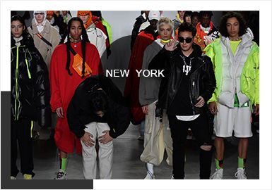 New York -- A/W 19/20 Analysis of Catwalks for Menswear