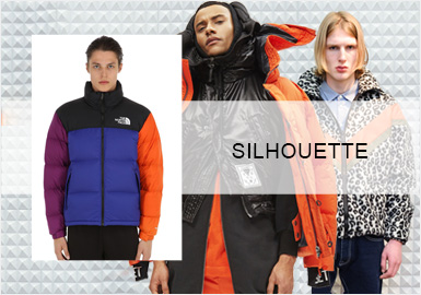 Funky Padded Jacket -- 20/21 A/W Silhouette Trend for Menswear
