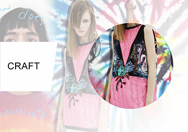 2020 Craft Trends.Novel T Shirt S S 2020 Craft Trend For Patterns On Womenswear