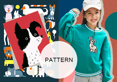 Playful Dogs -- A/W 20/21 Pattern Trend for Kidswear