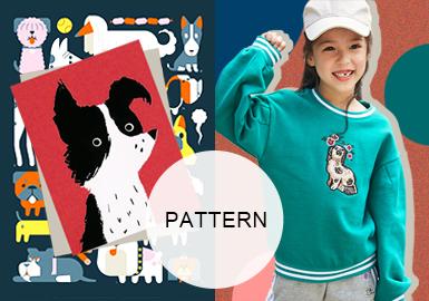 Playful Dogs -- A/W 20/21 Pattern Trend for Kidswear