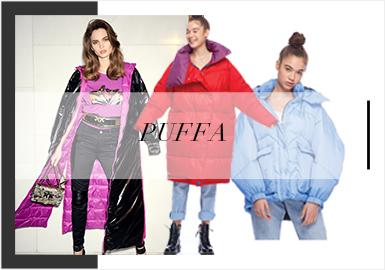 Puffer Coats -- Analysis of A/W 19/20 Womenswear Trunk Show