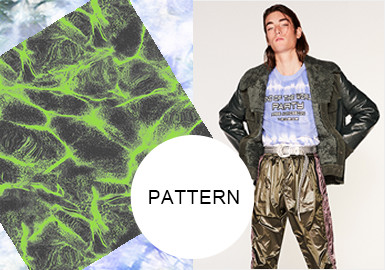 Tie Dyeing -- A/W 20/21 Pattern Trend for Menswear