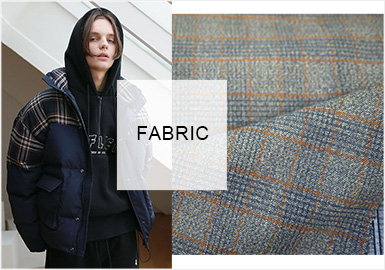 Diversification -- A/W 20/21 Fabric Trend for Men's Puffer Coats