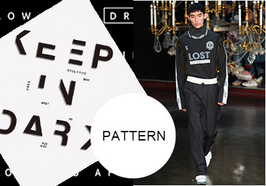 Letter Graphics -- A/W 20/21 Pattern Trend for Menswear