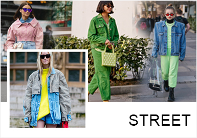 Denim -- A/W 19/20 Street Snaps of Womenswear