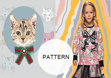 Energetic Kittens -- A/W 20/21 Pattern Trend for Kidswear