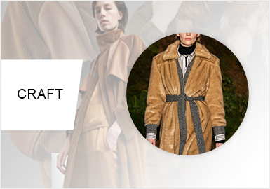 Splicing -- A/W 20/21 Craft Trend for Women's Leather&Fur