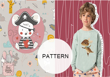 Mouse -- A/W 19/20 Pattern Trend for Kidswear
