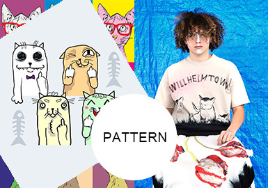 Funky Kittens -- A/W 20/21 Pattern Trend for Menswear