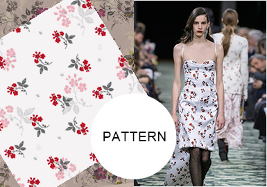 Elegant Flowers -- S/S 2020 Pattern Trend for Womenswear