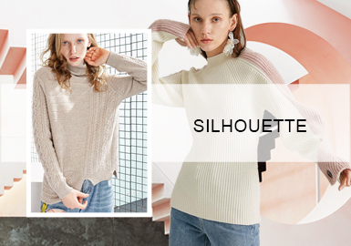 Light and Simple Pullovers -- A/W 20/21 Knitwear Silhouettes for Womenswear