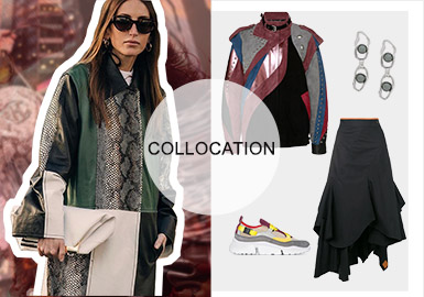City Palette -- S/S 2020 Collocation of Women's Leather Jackets