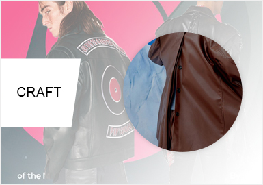 Designs on Back -- Craft Trend for S/S 2020 Men's leather Jackets