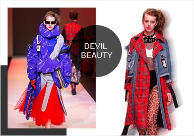 Devil Beauty -- Analysis of A/W 19/20 Catwalk Brands for Womenswear