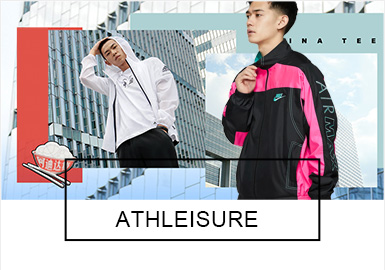 Athleisure -- Comprehensive Analysis of S/S 2019 Benchmark Brands for Menswear