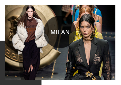 Meet Milan -- Comprehensive Analysis of A/W 19/20 Catwalks for Womenswear