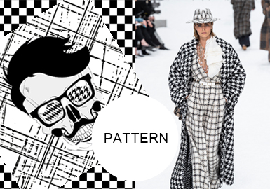 Fashion Checks -- A/W 20/21 Pattern Trend for Womenswear