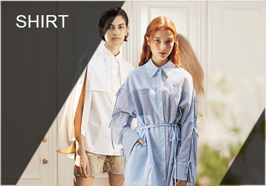 Bespoke Shirts -- Comprehensive Analysis of S/S 2019 Designer Brands for Womenswear