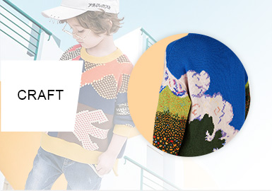 Reshaped Art -- A/W 20/21 Craft Trend for Boy's Knitwear