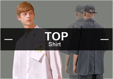 Shirt -- S/S 2019 Hot items in Menswear Market
