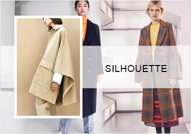 Diversified Styles -- A/W 20/21 Silhouette Trend for Women's Coats