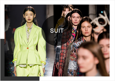 Suit -- Comprehensive Analysis of A/W 19/20 Catwalks for Womenswear