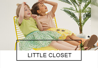 LITTLE CLOSET -- S/S 2019 Benchmark Brands for Kidswear
