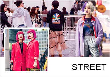 New Urban Youths -- Comprehensive Analysis of S/S 2019 Street Snaps of Womenswear