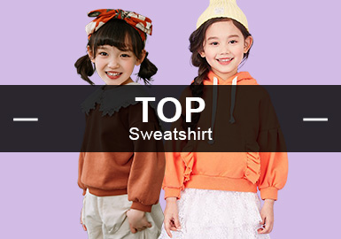 Sweatshirt -- S/S 2019 Popular Items in Girlswear Markets