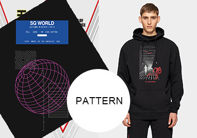 Lines, Graphics and Letters -- A/W 20/21 Pattern Trend for Menswear
