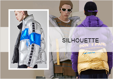 Cool Puffer Coats -- A/W 20/21 Silhouette Trend for Menswear