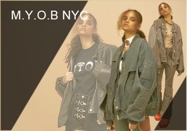 M.Y.O.B NYC -- Analysis of A/W Designer Brands for Womenswear