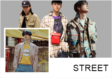 Street Youths -- Comprehensive Analysis of S/S 2019 Street Snaps for Menswear