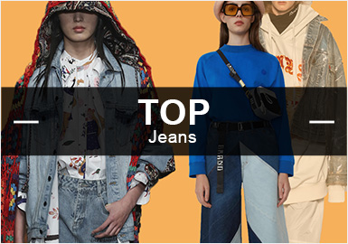 Denim -- S/S 2019 Popular Items in Womenswear Markets