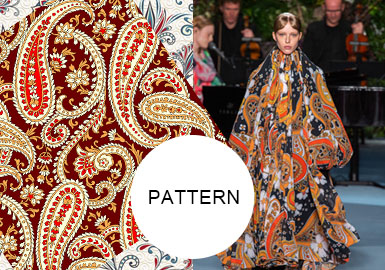 Paisley -- A/W 20/21 Pattern Trend for Womenswear