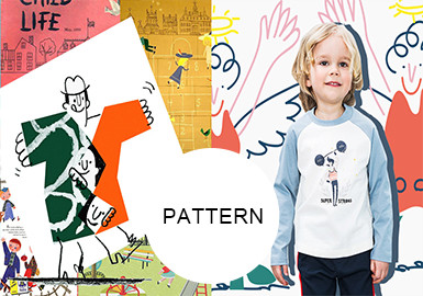Interesting Figures -- S/S 20/21 Pattern Trend for Kidswear