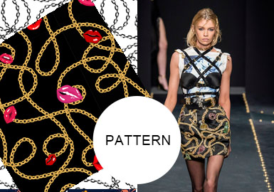 Stylish Chains -- A/W 20/21 Pattern Trend for Womenswear