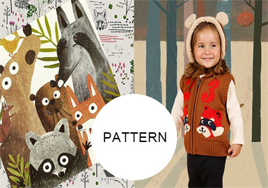 Jungle Animals -- A/W 20/21 Pattern Trend for Kidswear