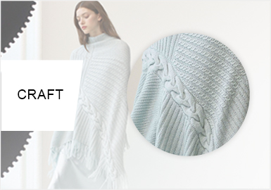 Diversified Cables -- A/W 20/21 Craft Trend for Women's Knitwear