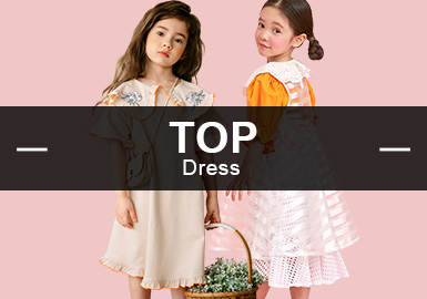 Dress -- Recommended S/S 2019 Items in Girlswear Markets