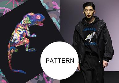 Dinosaurs -- A/W 20/21 Pattern Trend for Menswear