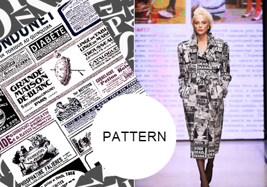 Fashion Letters -- A/W 20/21 Pattern Trend for Womenswear