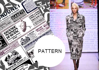 Fashion Letters -- A/W 20/21 Pattern Trend for Womenswear