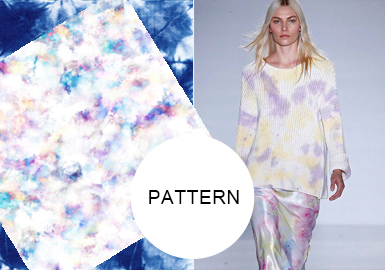 Statement Tie-Dye -- A/W 20/21 Pattern Trend for Womenswear