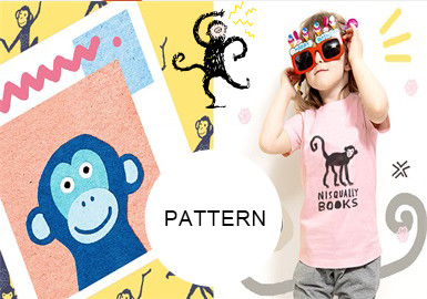 Monkeys -- S/S 20/21 Pattern Trend for Kidswear