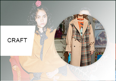 Reinvented Details -- A/W 20/21 Craft Trend for Girls' Coats