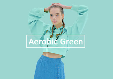Aerobic Green -- 2020 S/S Color Trend for Womenswear