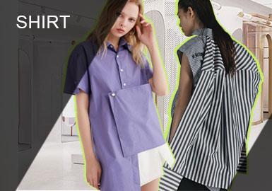 Deconstruction -- Comprehensive Analysis of S/S Women's Designer Shirts