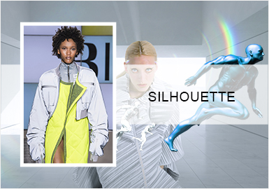Explore Technology -- Silhouette Trend of Women's Sports Jackets